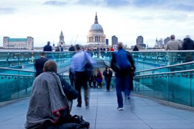 Millenium Bridge, London, England